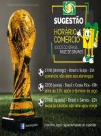 Sugestão par abertura do comércio na Copa do Mundo 2018