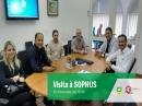 Visita a SOPHUS( (Soluções em tecnologia de comunicação e acesso às informações)